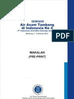Makalah Seminar Air Asam Tambang Di Indonesia Ke 4 Tahun 2012