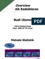 Overview Statistika Kedokteran