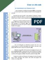 Manual PHP Lec02.Crear Un Sitio Web