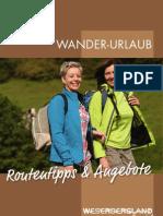 Wander-Urlaub im Weserbergland