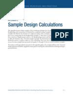 foundation design sample
