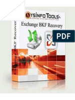 Exchange BKF Recovery Software