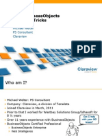 SAP Tips and Tricks