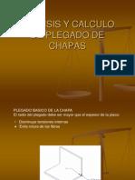 Analisis y Calculo de Plegado de Chapas
