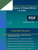 43598739 Diaper Market in India