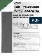 APEX AT2702 Manual Servicio