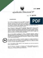 Directiva 0343 2010 Ed Tutoria
