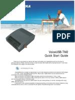 VoiceUSB-TM2 Quick Start