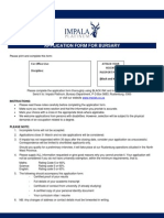 Application IMPLASTS