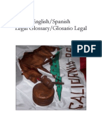 Spanish Legal Glossary