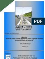 And 593-2012 Sisteme de Protectie Pentru Siguranta Circulatiei La Drumuri Si Autostrazi