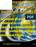 TCTM for Faster, Greener, Cheaper Oil Extraction