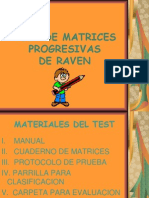 Test de Matrices Progresivas[1]