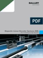 Transdutores Lineares Incrementais - BML (Inglês)
