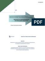Processo de Comissionamento - FUNCEFET - Apostila [Modo de Compatibilidade]