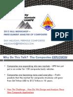 FINITE ELEMENT ANALYSIS OF COMPOSITES