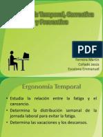 Ergonomía Temporal, Correctiva y Preventiva