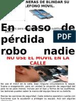 CINCO MANERAS DE BLINDAR SU TELEFONO MOVIL.pptx