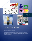 Calendar Plan or Action Plan for production
