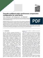 Cascade Multilevel Static Synchronous Compensator