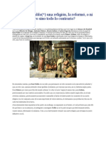 Fundo San Pablo una religión la reformó o ni lo uno ni lo otro sino todo lo contrario