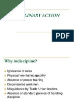 Disciplinary Action 122