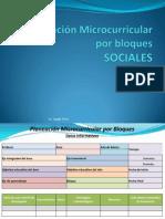 Planeación Microcurricular proceso de armar