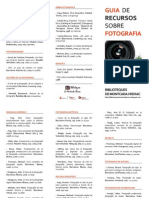 Guia de recursos sobre fotografia