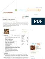 Chicken-Seafood Paella - Delish