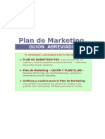 Esqueleto Para Plan de Marketing
