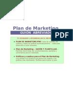 Esqueleto Para Plan de Marketing