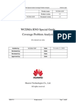 WCDMA RNO Special Guide Coverage Problem Analysis-20050316-A-2.0
