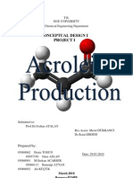 38621213 Project I Acrolein Production