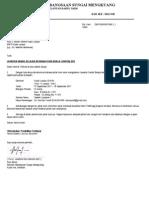 Cth - Surat Permohonan Tiket Ktmb