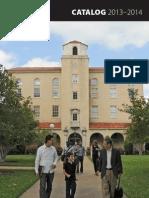 Dallas Theological Seminary 2013-2014 Catalog