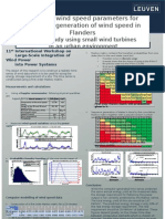 Modelling Wind Speed Parameters for Computer Generation of Wind Speed