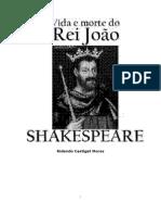 Vida e Morte Do Rei John-William Shakespeare