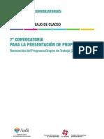 CLACSO 7Convocatoria GT 2013 2016