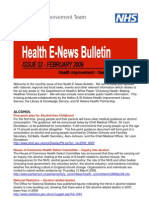 Health E-News Bulletin February 09