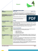 Buy-Jaiprakash Associates Target 110 Research Report Feb 2009