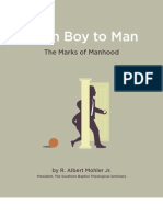 Boy To Man - the marks of manhood