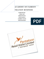 Pantaloons Final Report