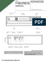 Kenwood CD-206_DPF-R6010_R6010E CD Player Sm