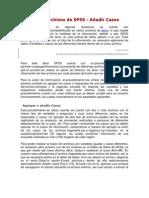 Fundir Archivos de SPSS