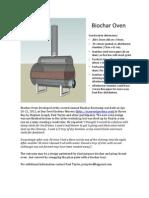 Biochar Oven Starseed