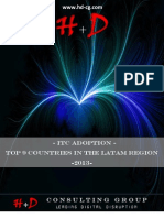 ITC ADOPTION. TOP 9 COUNTRIES IN LATIN AMERICA - 2013