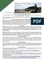 Jumaa Prayer 22 February13