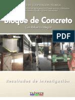 Informe Técnico - Bloque Concreto