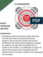 Product life management