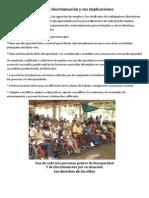 descriminacion, derechos de los niños y derechos de los adultos